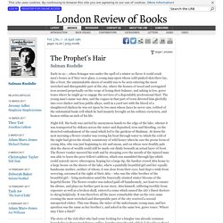 Salman Rushdie · The Prophet's Hair · LRB 16 April 1981
