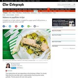 Salmon en papillote recipe