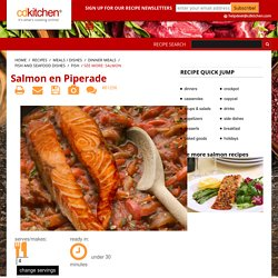 Salmon en Piperade Recipe