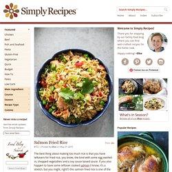 Salmon Fried Rice Recipe