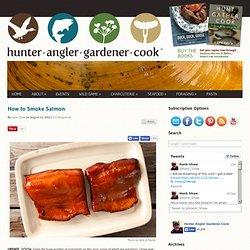 How to Smoke Salmon - Smoked Salmon Recipe