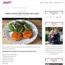 Salmon And Sweet Potato Fish Cakes
