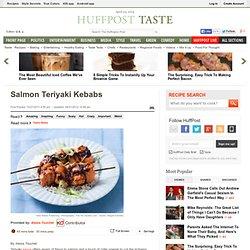 Salmon Teriyaki Kebabs