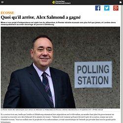 Quoi qu'il arrive, Alex Salmond a gagné