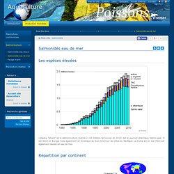 IFREMER - Statistiques - Salmonidés eau de mer