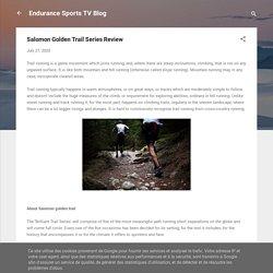 Salomon Golden Trail Series Review