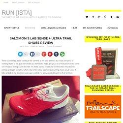 Salomon S Lab Sense 4 Ultra Trail Shoes Review