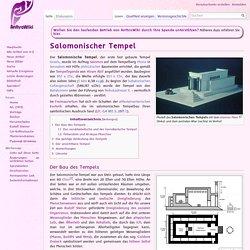 Salomonischer Tempel – AnthroWiki