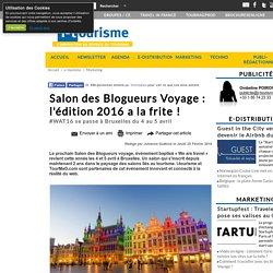 Salon des Blogueurs Voyage : l'édition 2016 a la frite !