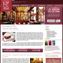 Salon de thé Paris, le Grand Café Paris