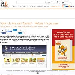 Salon du livre de Montreuil: l'Afrique innove aussi