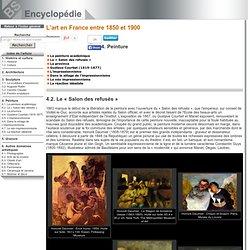 Le «Salon des refusés» [Lart en France entre 1850 et 1900->Peinture]