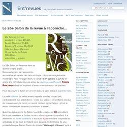 26e Salon de la revue, le site des revues culturelles