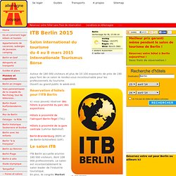 Salon de tourisme Berlin - ITB 2015