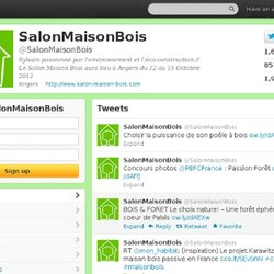 SalonMaisonBois (SalonMaisonBois) on Twitter