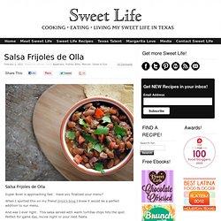 Salsa Frijoles de Olla | Sweet Life