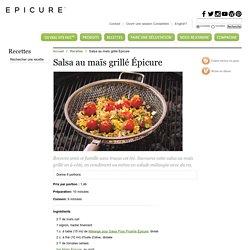 Salsa au maïs grillé Épicure