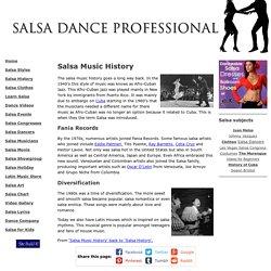 Salsa Music History