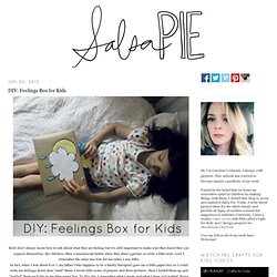 DIY: Feelings Box for Kids