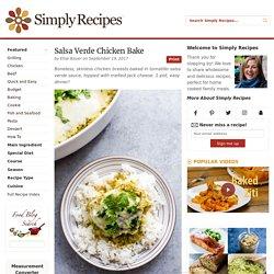 Salsa Verde Chicken Bake, Green Salsa Chicken Recipe