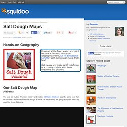 Salt Dough Maps