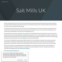 Salt Mills UK