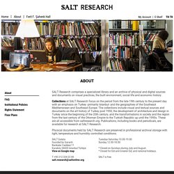 SALT Research - About