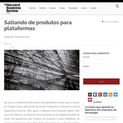 Saltando de produtos para plataformas - Harvard Business Review Brasil