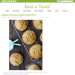 Salted Caramel Apple Hand Pies Recipe