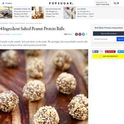 Salted Peanut Protein Balls