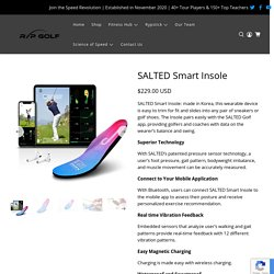 SALTED Smart Insole