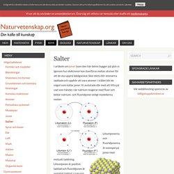 Salter – Naturvetenskap.org
