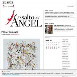 El salto del ángel por Ángel Gabilondo Pujol