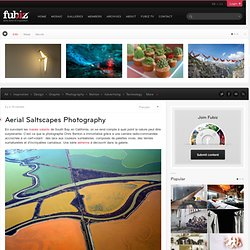 Aerial Saltscapes Photography