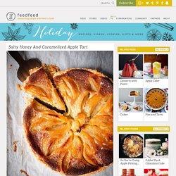 Salty Honey And Caramelized Apple Tart