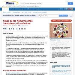 Los 5 Alimentos Mas Saludables y Economicos