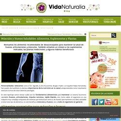 Músculos y Huesos Saludables: Alimentos, Suplementos y Plantas