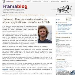 Unhosted : libre et salutaire tentative de séparer applications et données sur le Web