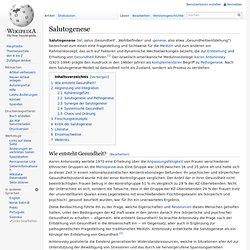 Salutogenese