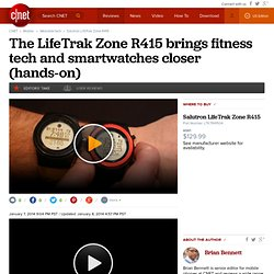Salutron LifeTrak Zone R415 - Watches and wrist devices - CNET Reviews - Mozilla FireFox for eBuro
