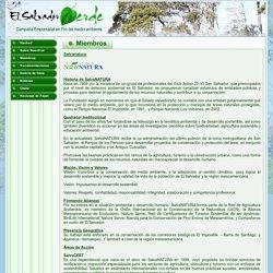 Campaña en Pro del Medio ambiente de El Salvador