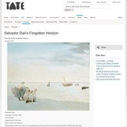 Salvador Dalí's Forgotten Horizon