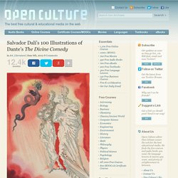 Salvador Dalí's 100 Illustrations of Dante's The Divine Comedy