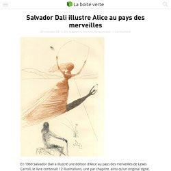 Salvador Dali illustre Alice au pays des merveilles
