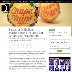 Salvador Dalí's Real Masterpiece: The Logo For Chupa Chups Lollipops
