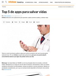 Top 5 de apps para salvar vidas