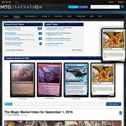 MTG Salvation - Magic: The Gathering Articles, Rumors & Community