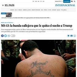 MS-13: la banda callejera que le quita el sueño a Trump - El País 25-05-2017