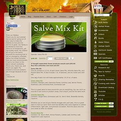 Salve Mix Kit