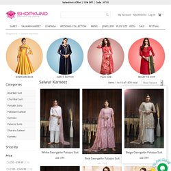 Designer Pakistani Salwar Kameez Online, Buy Indian Bollywood Salwar Suit in UK